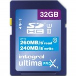 INTEGRAL CARTE SDHC ULTIMA PROX 32GB V90 (280/240MB/S) Class10